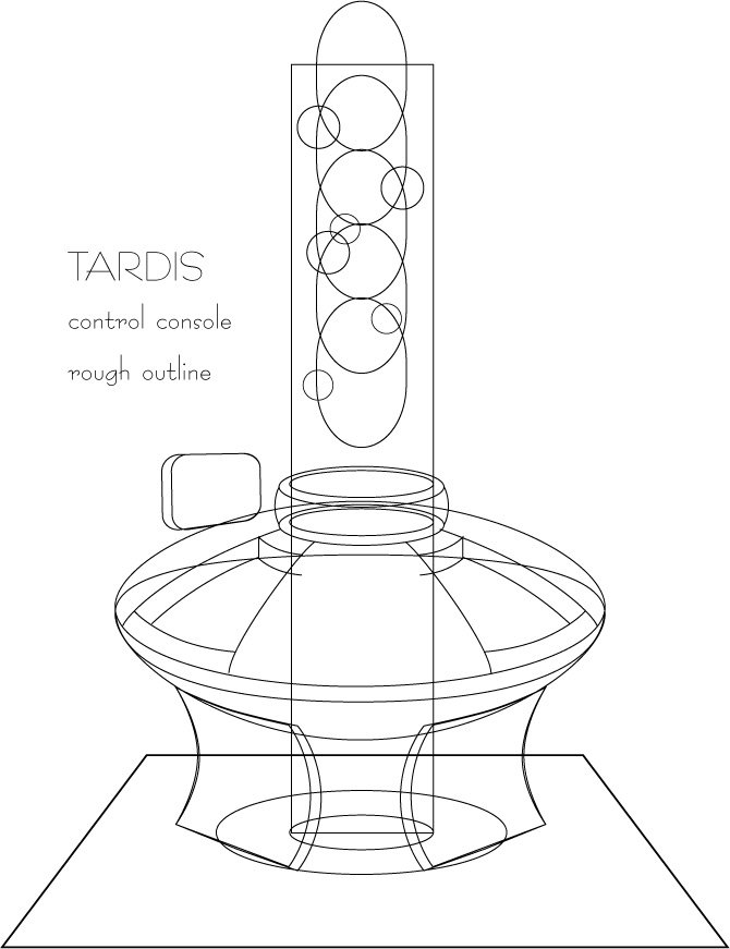 670x871 Doctor Who Tardis Console By Donkelly