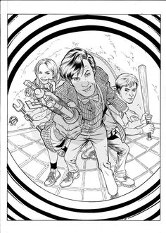 236x330 11th Doctor Who Coloring Page The 11th Doctor By Psychotic