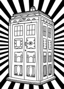 216x300 Tardis Coloring Page How To Draw Dr Who Tardis