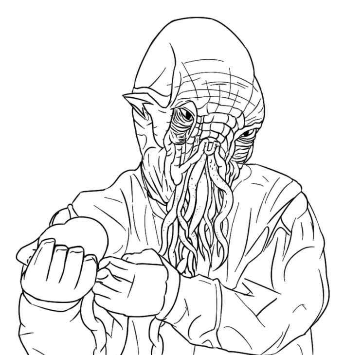 707x730 Ood The Alien From Doctor Who Coloring Page Doctor Who