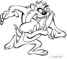 236x208 Devil Tasmanian Tune Looney Toons Taz The Tasmanian Devil