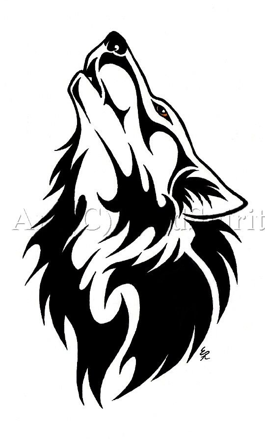 540x893 Fresh Cool Wolf Tattoo Designs 48 For Design Tattoos With Cool