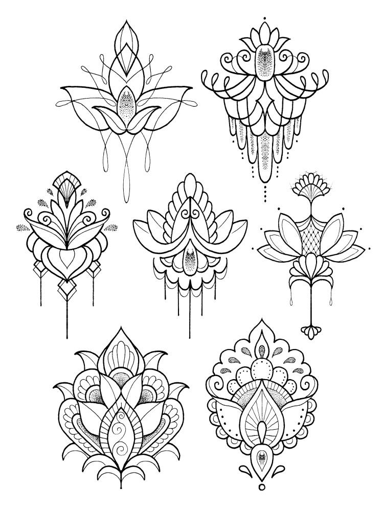 749x1000 Realistic Flash Tattoos Designed By International Tattoo Artists