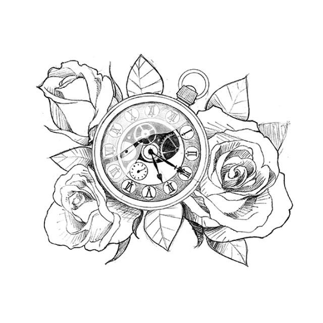 640x640 Tatuaje Reloj Tattoo Tattooart On Instagram