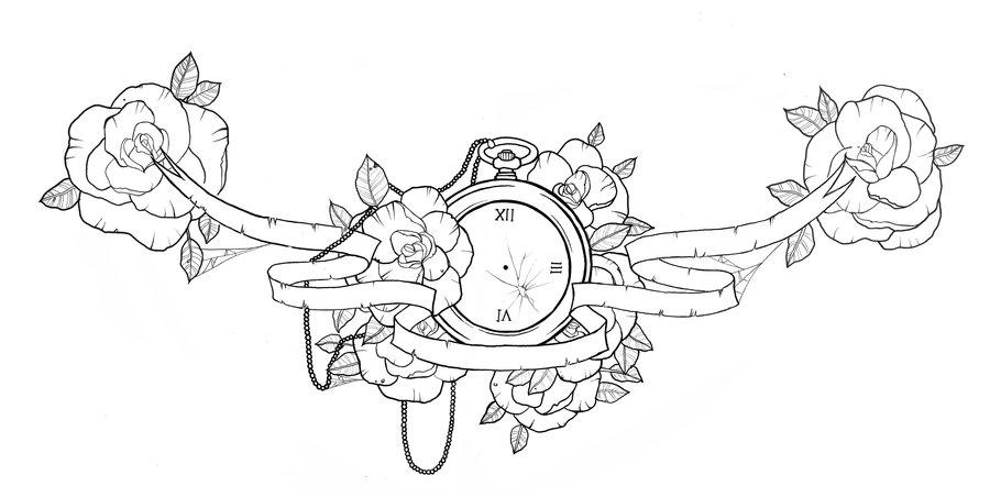 900x452 Chest Piece Tattoo Design By Ziuuziuu