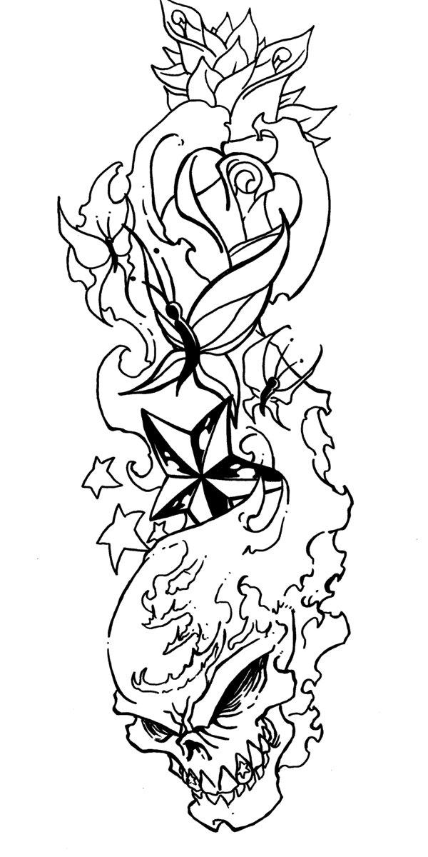 600x1200 Cute Tattoos On Body Lovely Flaming Skull Tattoo Designs