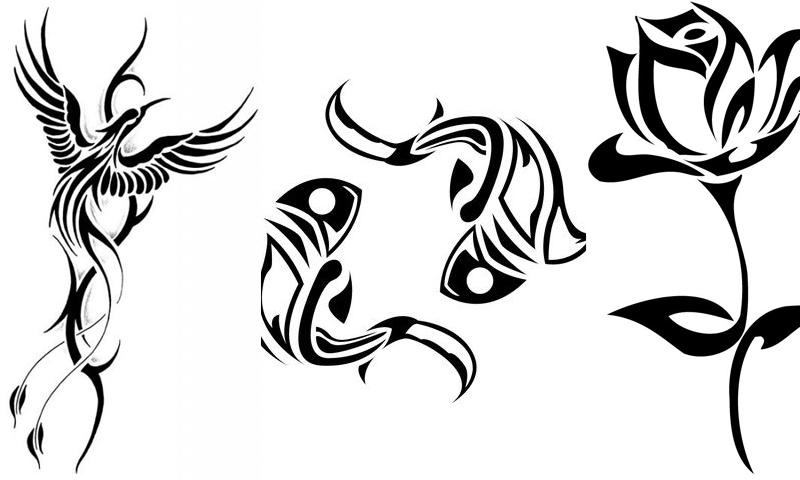 800x480 Luxury Tribal Tattoo Drawings Designs 87 For Tattoo Designer