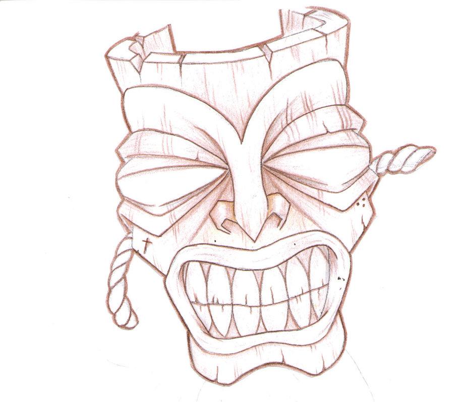 900x797 Mask Tattoo Drawings Tiki Masks Tattoo Designs