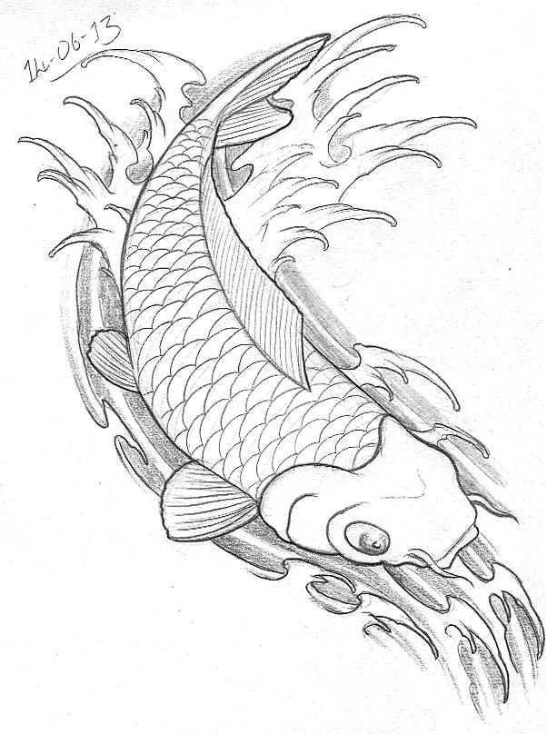 602x808 Tattoo Sketch A Day June 2013
