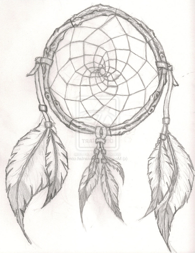 785x1017 Native American Dreamcatcher Tattoo Native American Dream Catcher