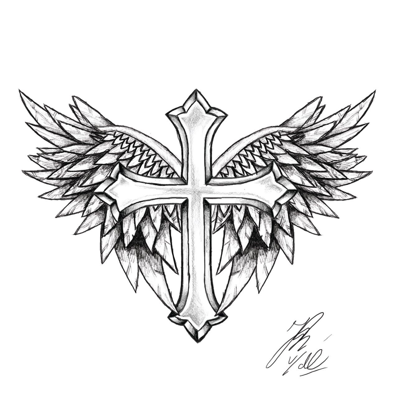 1276x1276 Simple Cross Tattoo Designs Tattoos Simple Cross