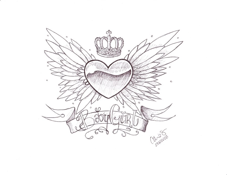 900x695 Baby Girl Tattoo Designs