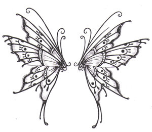 300x261 Free Butterfly Quilling Patterns Patterns I Am Making Free