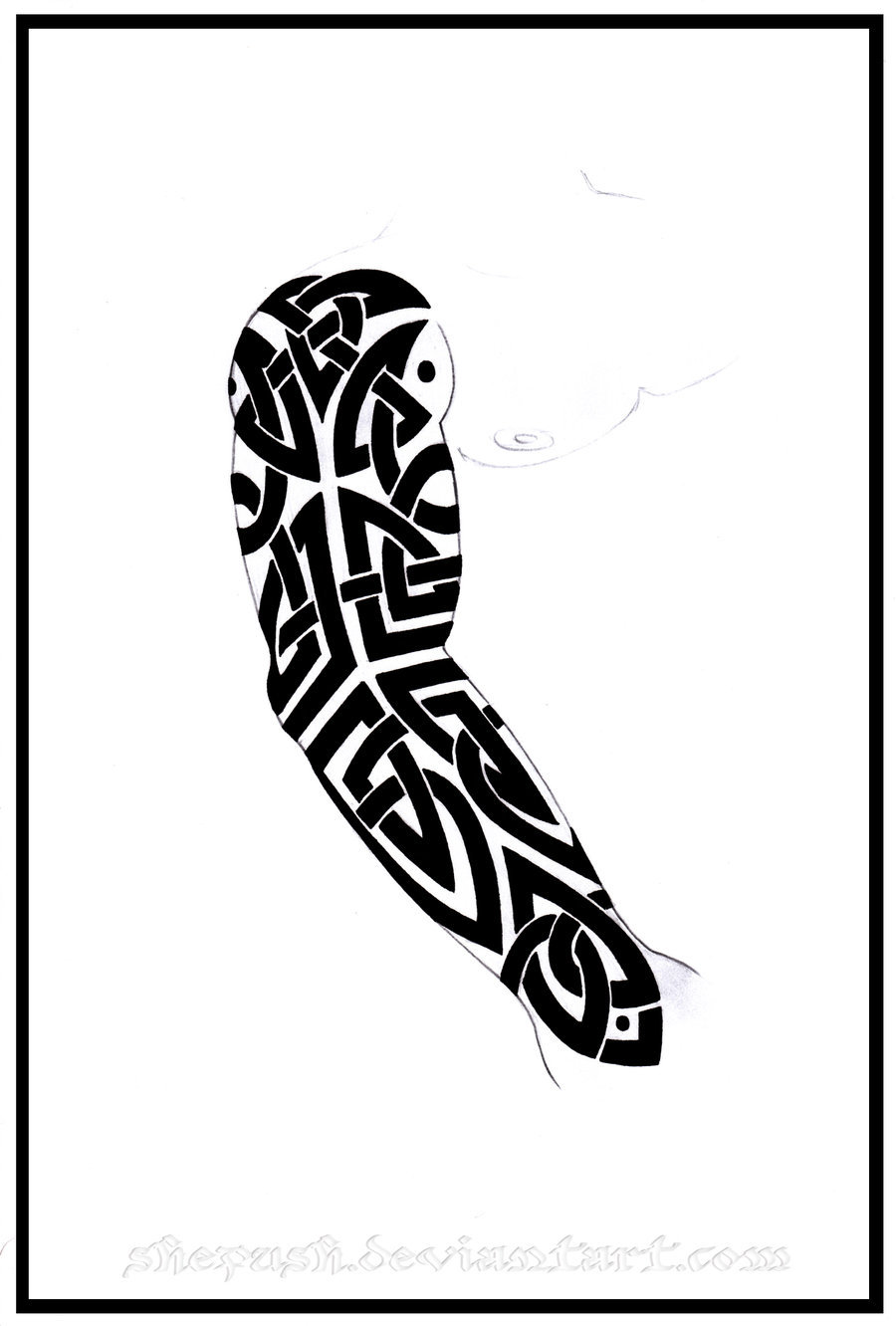 Tattoo Sleeve Stencils: Tattoo Drawing Designs On Paper At GetDrawings