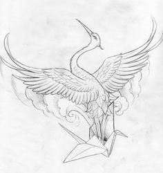 236x250 26 Gorgeous Paper Crane Tattoos And Meanings