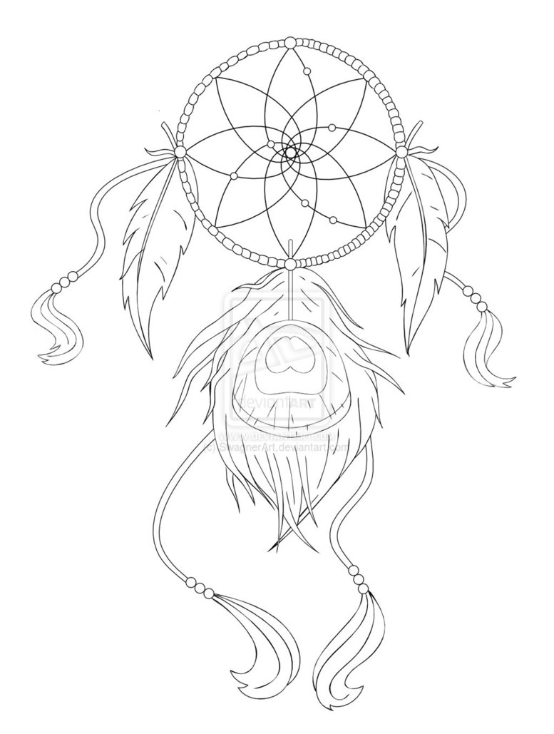 777x1029 Simple Dreamcatcher Tattoo Designs Images Amp Pictures