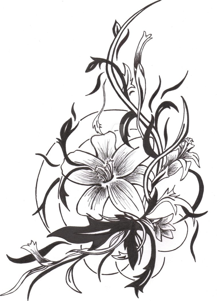 Tattoo Drawing Designs On Paper At Getdrawings Free For