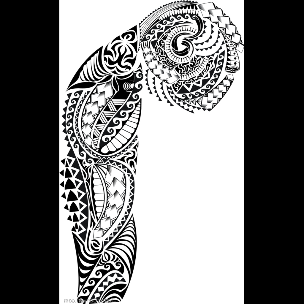 1024x1024 Tribal Sleeve Tattoos Stencils Full Sleeve Tattoo Designs On Paper