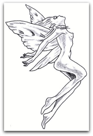300x438 Choosing The Perfect Fairy Tattoo Design