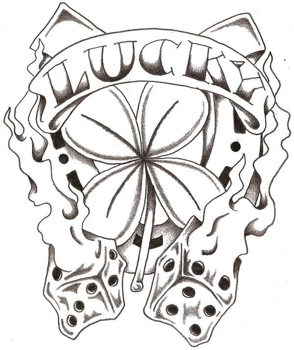 600x714 Lucky Tattoo By Thelob