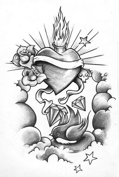 Tattoo Drawing Paper