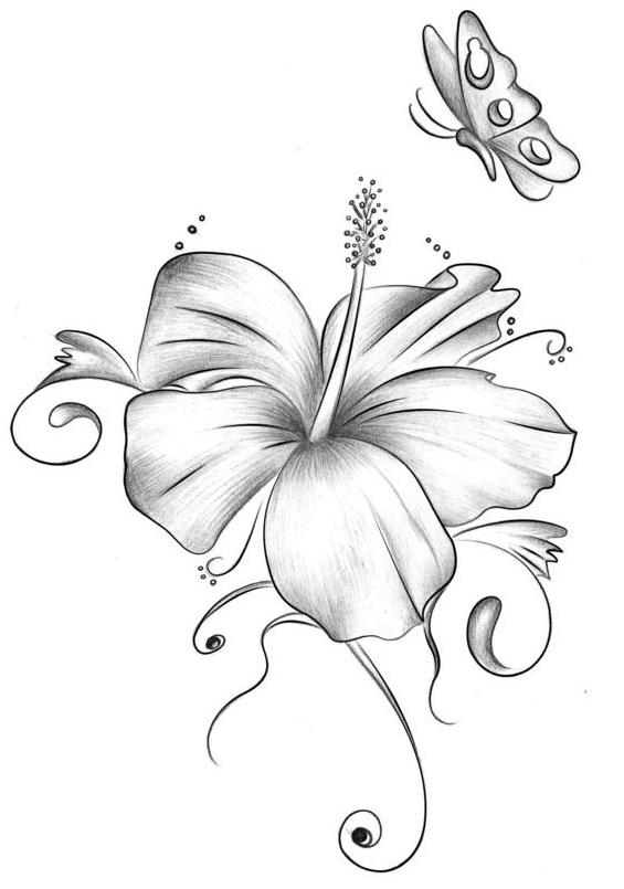 565x805 Tattoo Flowers Designs Elaxsir