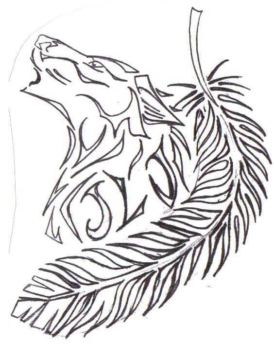 564x707 Tattoo Drawing By Hawpaw