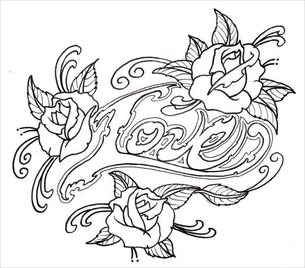 Tattoo Drawing Rose