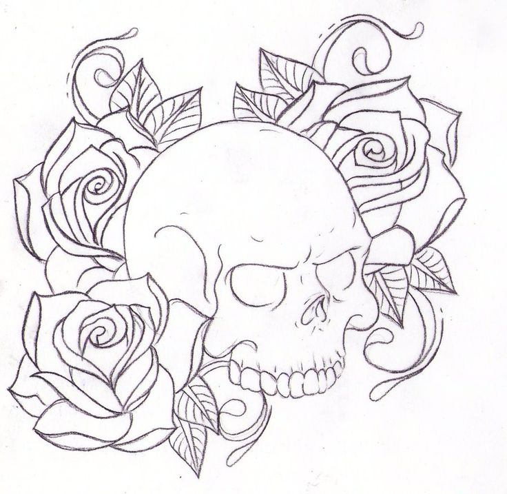 Tattoo Drawing Rose At Getdrawings Com Free For Personal Use