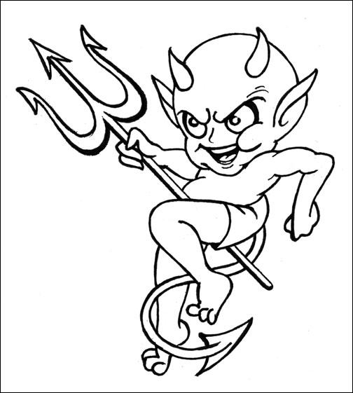 504x561 Free Tattoo Designs To Print Gallery, Symbols, Devil Tattoo