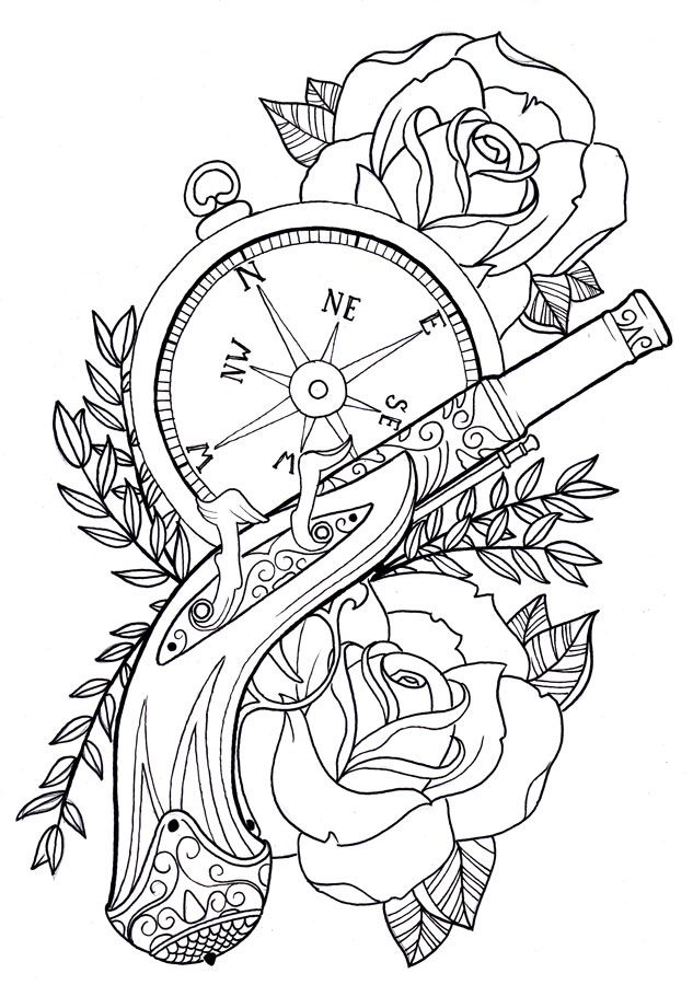 Tattoo Flash Drawing
