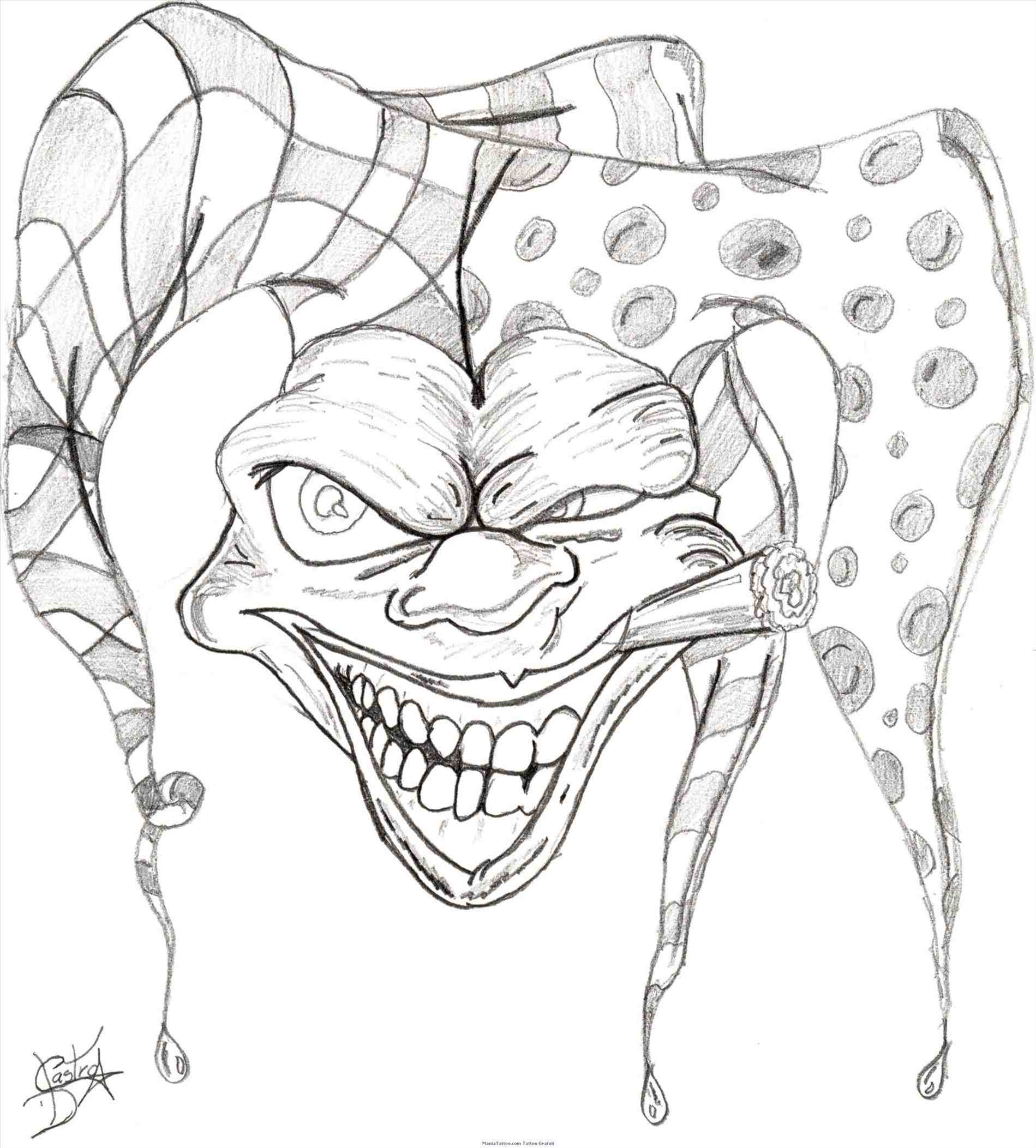 1899x2105 Drawings Of Clowns With Guns