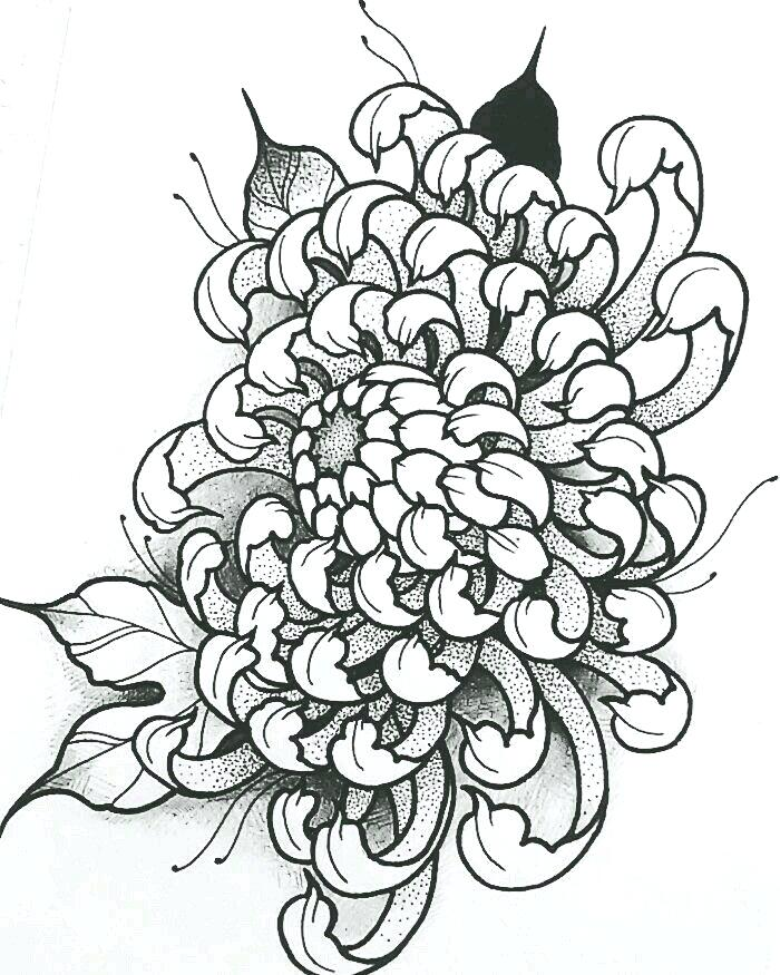Tattoo Flower Drawing at GetDrawings.com | Free for personal use ...