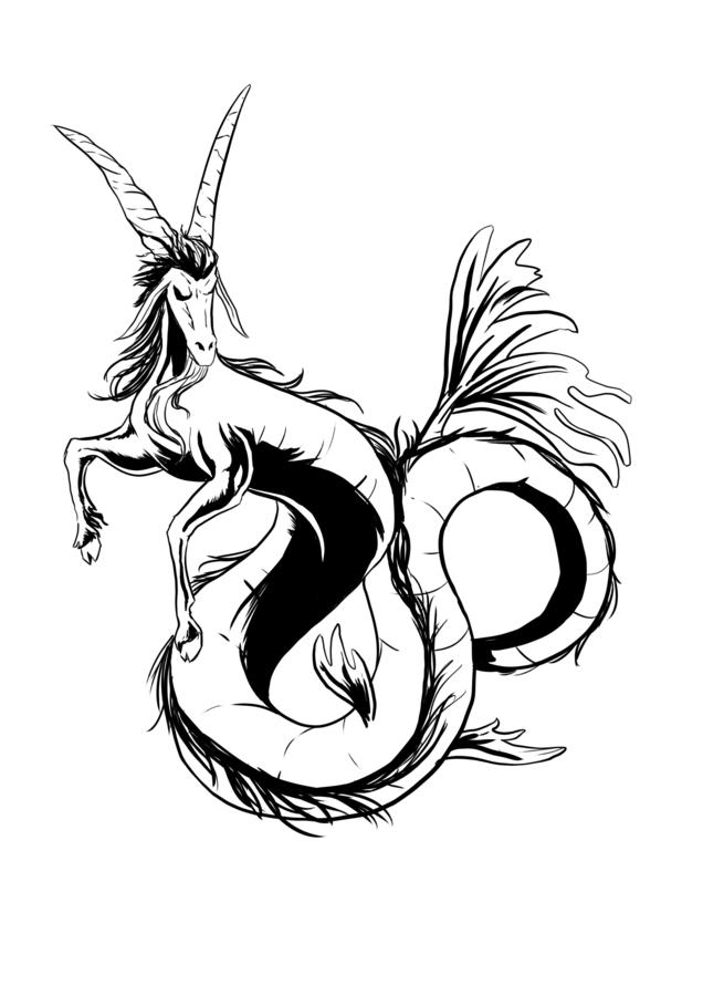 636x900 Best Capricorn Tattoo Designs