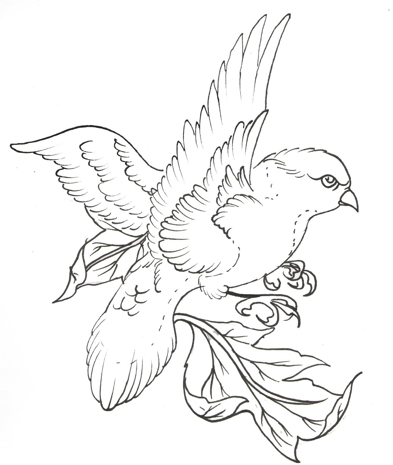 Free Tattoo Line Drawing : Tattoo line drawing at getdrawings free for personal