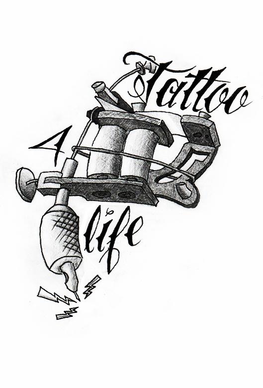 tattoo machine drawing at getdrawings com