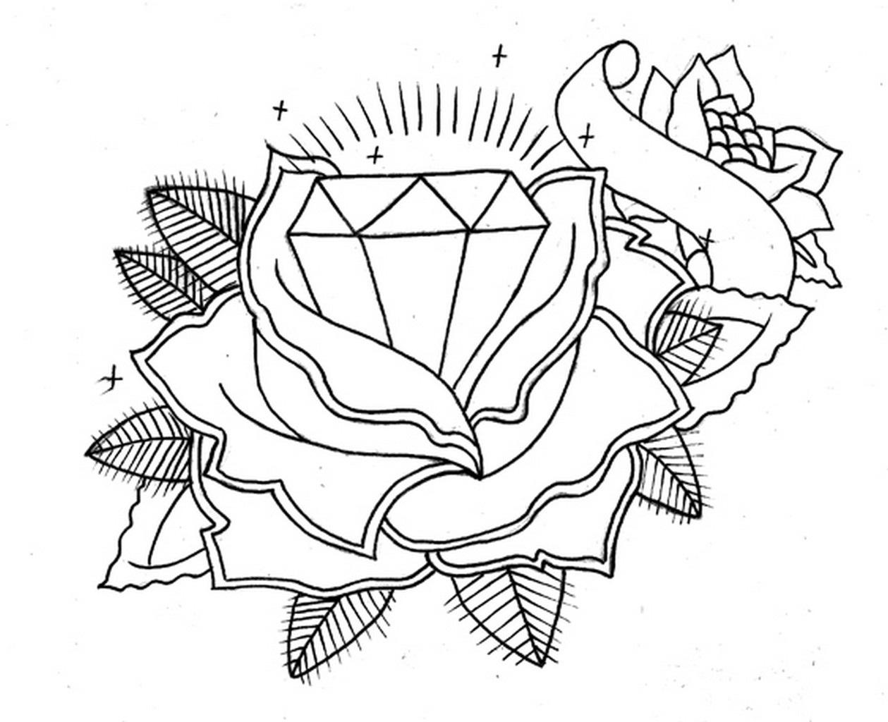 1259x1024 Diamond Tattoos Designs, Ideas And Meaning Tattoos For You