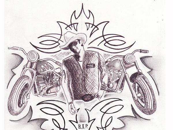 Tattoo Sketch Drawing