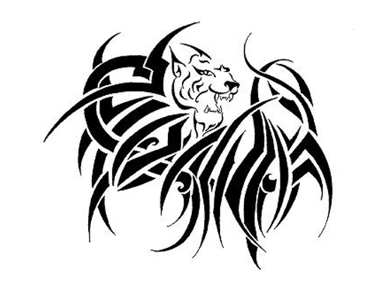 550x400 Tattoo Design Gtgt Tattoo Sketches Design Lion, Angel And Dragon