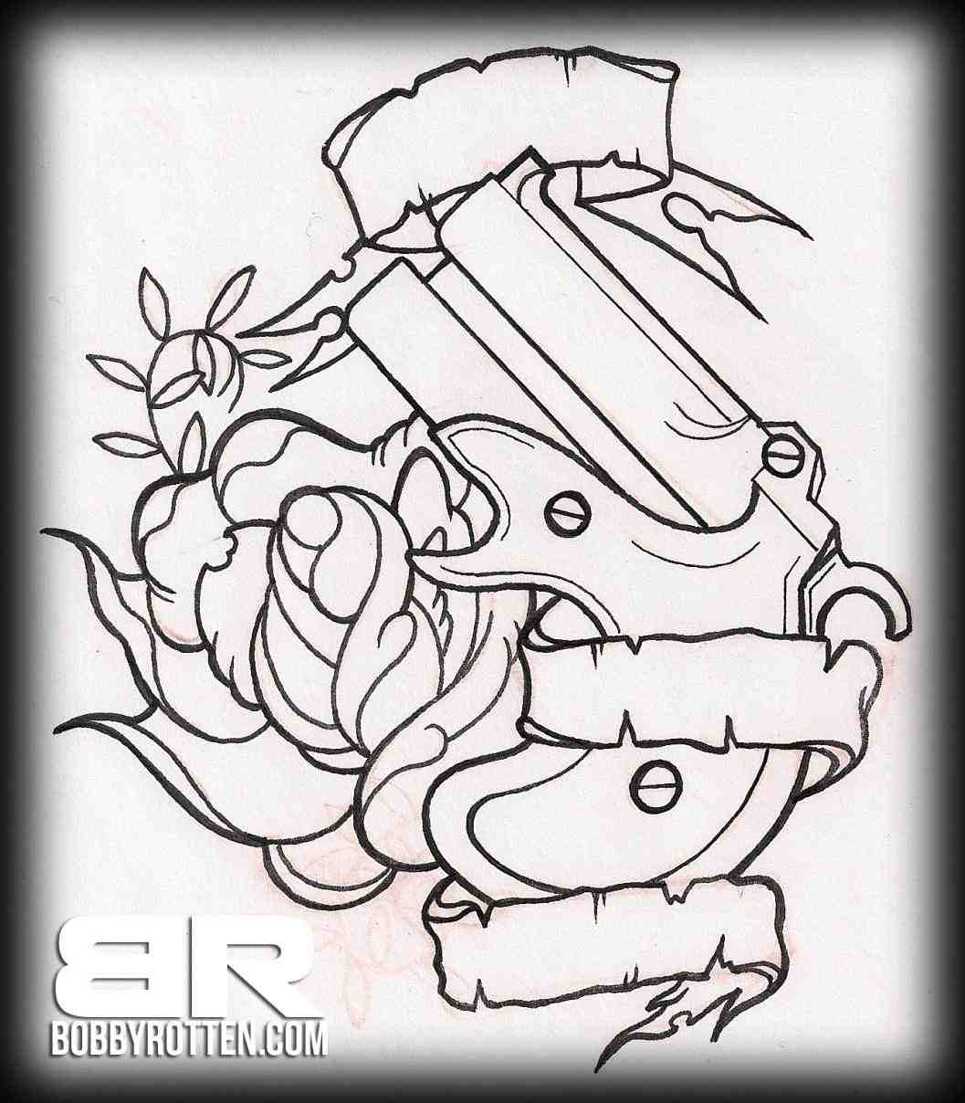 1057x1208 Traditional Rose Drawing Outline Line Art Gallery Tattoo Tumblr De