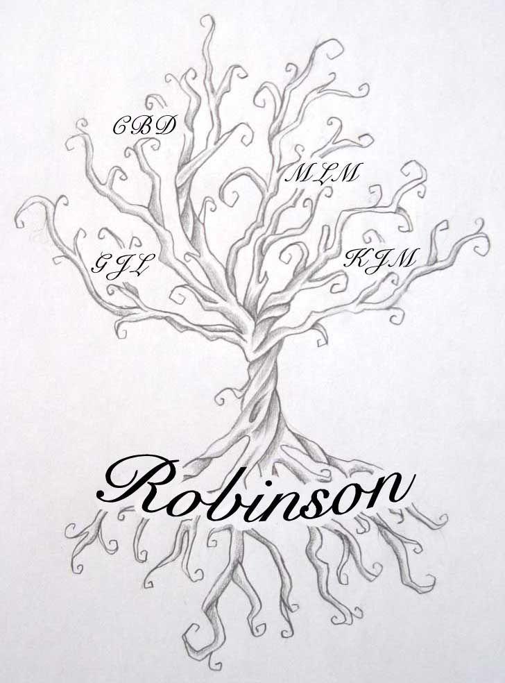 728x984 Family Tree Tattoos Designs