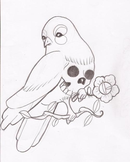 500x622 Birds Tattoos And Designs Page 134