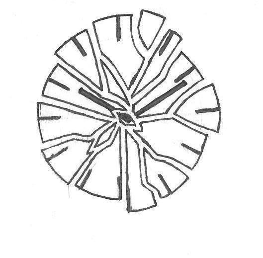 529x519 Clock Tattoo Designs