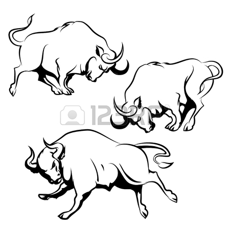 450x450 Fighting Bull Taurus Stock Photos. Royalty Free Business Images