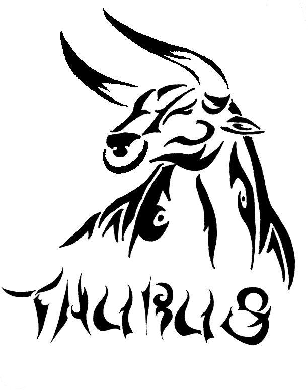 612x777 Taurus Tattoo By Trollkid2 On Taurus
