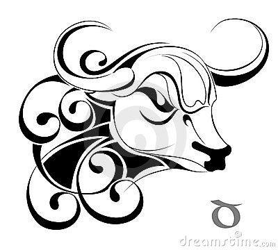400x360 Collection Of Dark Taurus Zodiac Bull Tattoo