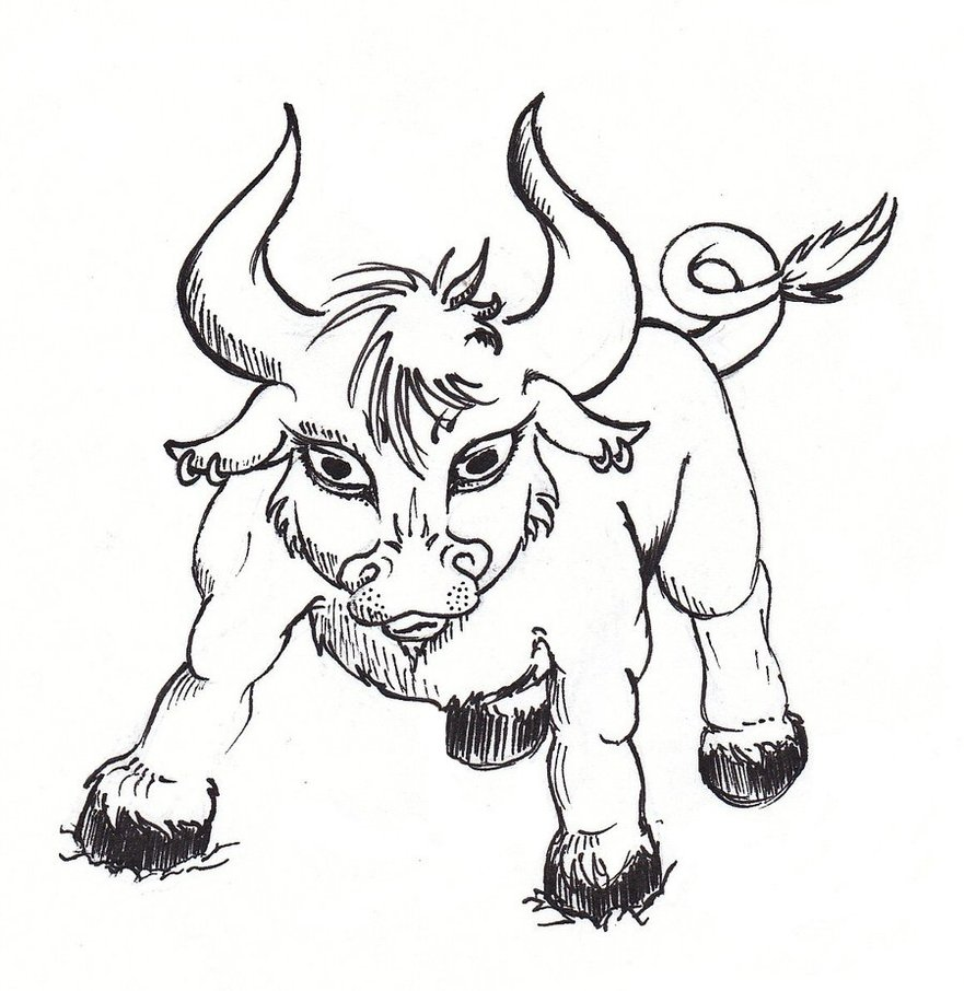 881x906 Cute Little Taurus 3 By Jakalgirl