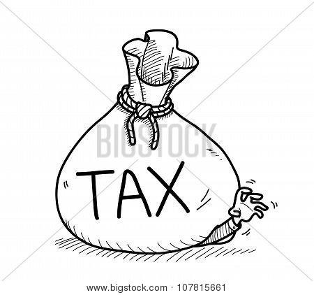 450x422 Tax Doodle Vector Amp Photo Bigstock
