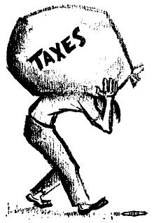 220x318 The Editors The New Tax Bill (November 1945)