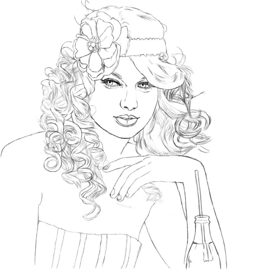 Taylor Swift Drawing
